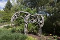 """One of the installations in """"The Nature of Horses"""" exhibit, by artist Deborah Butterfield, at the Denver Botanic Gardens in Denver, Colorado LCCN2015633596.tif"""