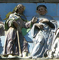 Opere di misericordia 02, santi buglioni, accogliere i pellegrini, dett 02.jpg
