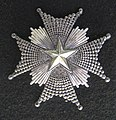 Order of the North Star, Star (Sweden) - Fram Museum.jpg