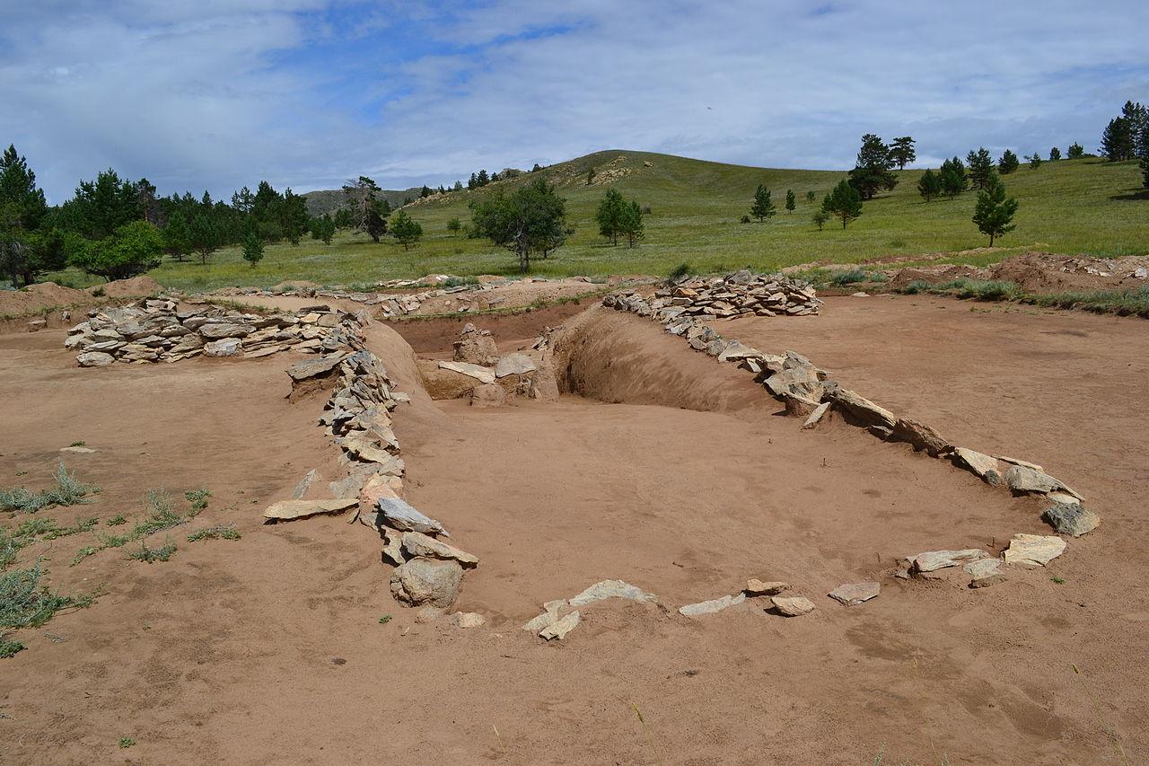 Результат раскопок хуннского могильника Оргойтон в 2011 году