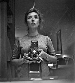 Oriana Fallaci self portrait Rolleiflex.jpg