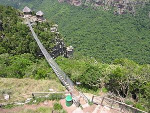 Oribi Gorge - Oribi Gorge suspension bridge