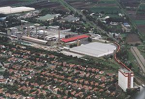 Orosháza - Aerial view