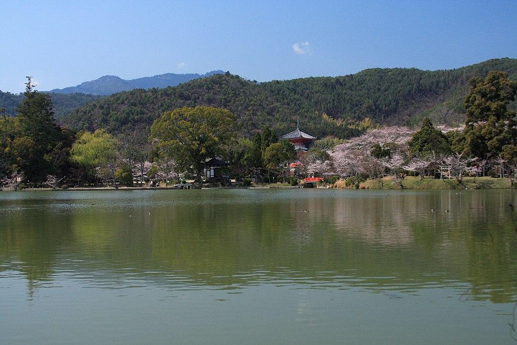 Osawaike spring Kyoto 001 JPN