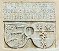 Ossiach 2 Gasthof Seewirt Wappen-Reliefstein 1561 08072015 5716.jpg