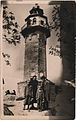 Ottoman clock tower in Plovdiv on old photo.jpg