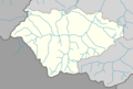 Outline map of Itum-Kalinsky District on the map of Chechnya.png