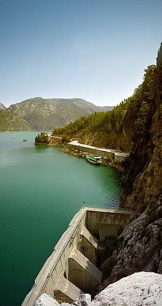 Oymapinar Dam - Image: Oymapinar Dam