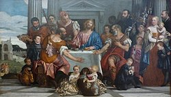 Paolo Veronese: Supper at Emmaus