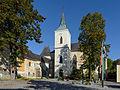 Pöggstall Pfarrkirche Südfront 02.JPG