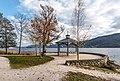 Pörtschach Halbinselpromenade Landspitz Pavillon am Aussichtspunkt 16112018 5364.jpg