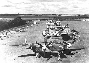 140th Operations Group - P-38s of the 370th Fighter Group