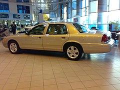 Ford Crown Victoria Lwb In Kuwaiti Ford Dealership