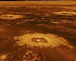 PIA00103 Venus - 3-D Perspective View of Lavinia Planitia.jpg