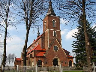 Niegowić Village in Lesser Poland Voivodeship, Poland