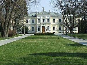 Julian Ursyn Niemcewicz - Krasiński Palace in Warsaw's Ursynów district—from 1822, Niemcewicz's residence