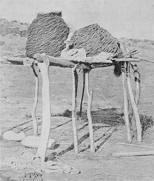 PSM V37 D494 Aboriginal granaries made of willow.jpg