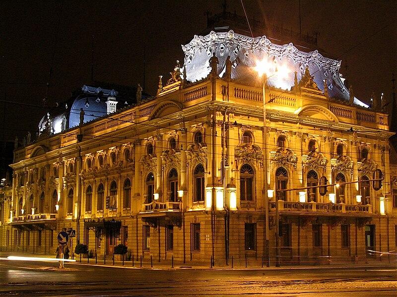 Plik:Pałac Izraela Poznańskiego Łódź front.JPG