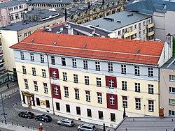 Pałac książąt Hohenlohe wrocław z marii magdaleny.jpg