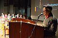 Pabitra Sarkar Addressing - Inaugural Function - Bengali Wikipedia 10th Anniversary Celebration - Jadavpur University - Kolkata 2015-01-09 2599.JPG
