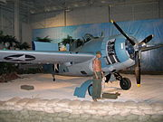 PacificAviation Museum F4F3 Wildcat Fighter