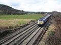 Paddington-bound train passes Ellerhayes - geograph.org.uk - 1720087.jpg