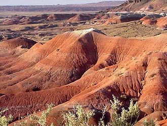 Painted Desert (Arizona) - Image: Painteddesert 1