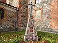 Pajevonio bažnyčia, šventoriaus paminklas.JPG