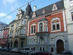 Moriz von Kuffner - The Palais Kuffner