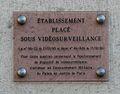 Palais de Justice, quai des Orfèvres, vidéosurveillance, plaque.jpg
