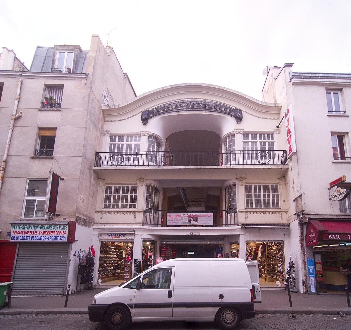 Palais du commerce paris wikip dia for C du commerce