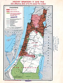 1948 Arab–Israeli War - Wikipedia on map of israel in old testament times, map of russia and ukraine, map of germany and israel, map of israel to color, map of west bank israel, map of middle east, map of west bank and gaza strip, map of countries around israel, map of iraq, map of gaza and israel, map of europe, map of africa, map of israel in jesus time, map of mid eastern countries, map of jerusalem, map of israel with cities, map of israel and palestine, israel neighboring countries, map of israel in biblical times, map of lebanon,