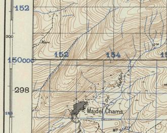 Palestine grid - Image: Palestine and Levant grids