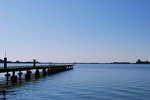 Lake Palić - Image: Palic lake view