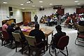 Panel Discussion - Collaboration with Academic Institutes for the Growth of Wikimedia Projects in Indian Languages - Bengali Wikipedia 10th Anniversary Celebration - Jadavpur University - Kolkata 2015-01-10 3382.JPG