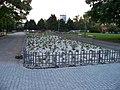 Pankrác, Centrální park, záhon.jpg