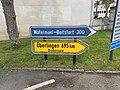 Panneaux direction Watermael Boitsfort Überlingen Chantilly 1.jpg