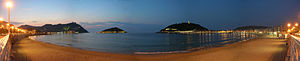 Donostia Beach (Basque Country, Europe)