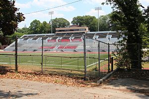 Panther Stadium - Image: Panther Stadium, Clark Atlanta University