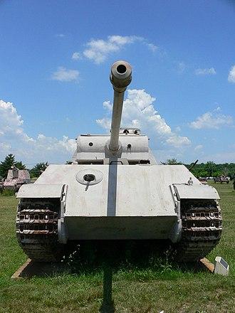Shot trap - Image: Panzerkampfwagen V G 1