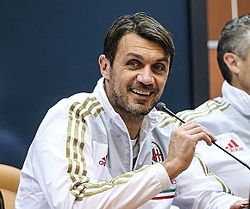 Image illustrative de l'article Paolo Maldini