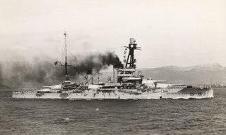 French battleship Paris - Paris after modernization