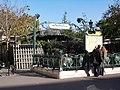Paris 75004 Metro station Cité - entrance 20040103.jpg