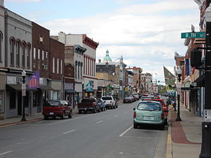 Paris, Kentucky - Downtown Paris