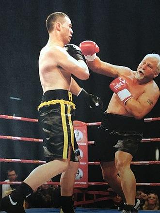 Joseph Parker (boxer) - Parker (left) vs. Botha, 2013