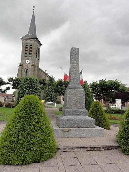 Parroy (M-et-M) monument aux morts