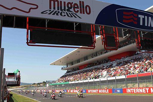 Partenza del Gran Premio d'Italia TIM 2011