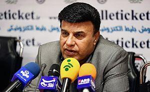 Parviz Mazloumi - Mazloumi in press conference as Mes Kerman head coach