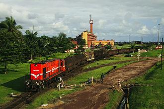 Transport in Cameroon - Image: Passa du train
