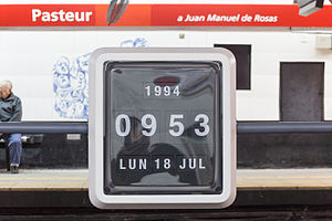 Pasteur - AMIA (Buenos Aires Underground) - Image: Pasteur Subte 2